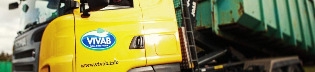 Lastbil från Vivab